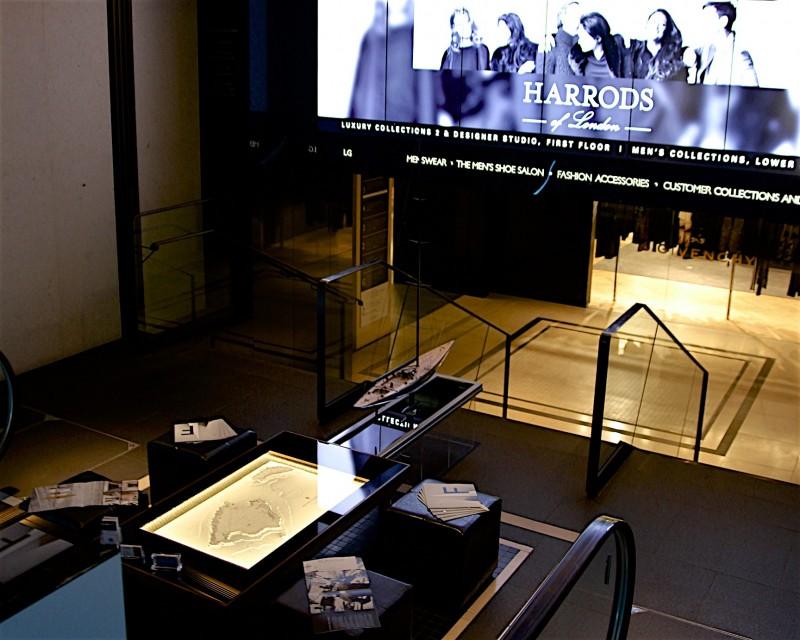 Harrods London Display
