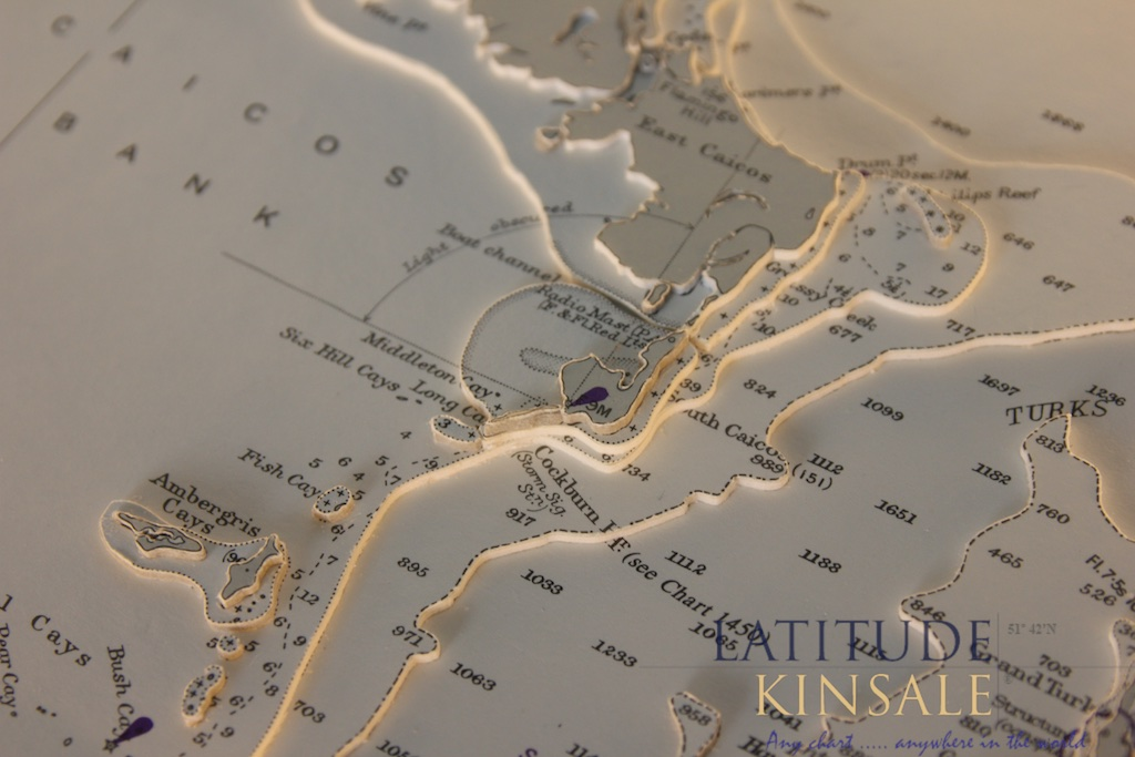 Turks Island And Caicos Bank Latitude Kinsale