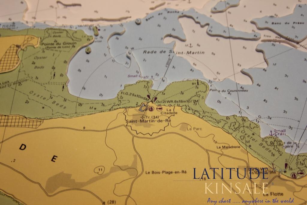 Ile de Re La Rochelle Latitude Kinsale