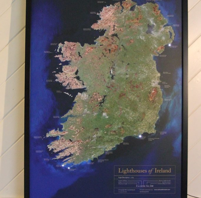 Lighthouses In Ireland Map.Lighthouses Of Ireland Latitude Kinsale
